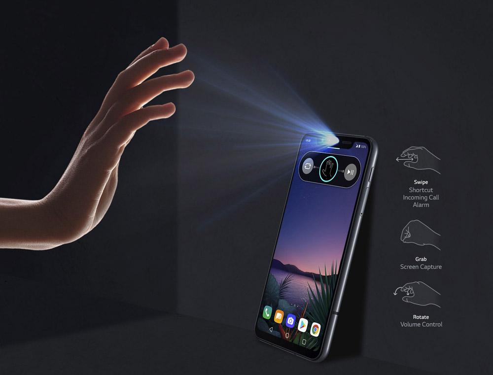 گوشی موبایل ال جی LG G8S ThinQ ظرفیت 128 گیگابایت | فروشگاه Nepler