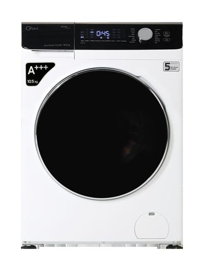 ماشین لباس شویی جی پلاس مدل GWM-KD1048
