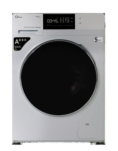 ماشین لباس شویی جی پلاس مدل GWM-KD1049
